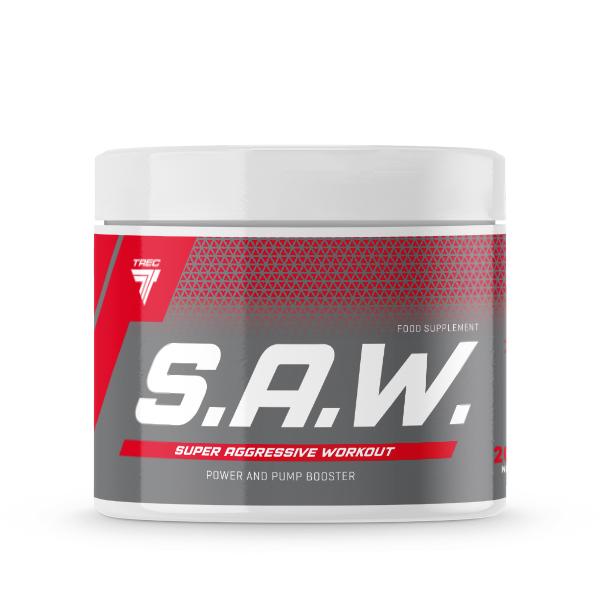 SAW pre-workout trec nutrition