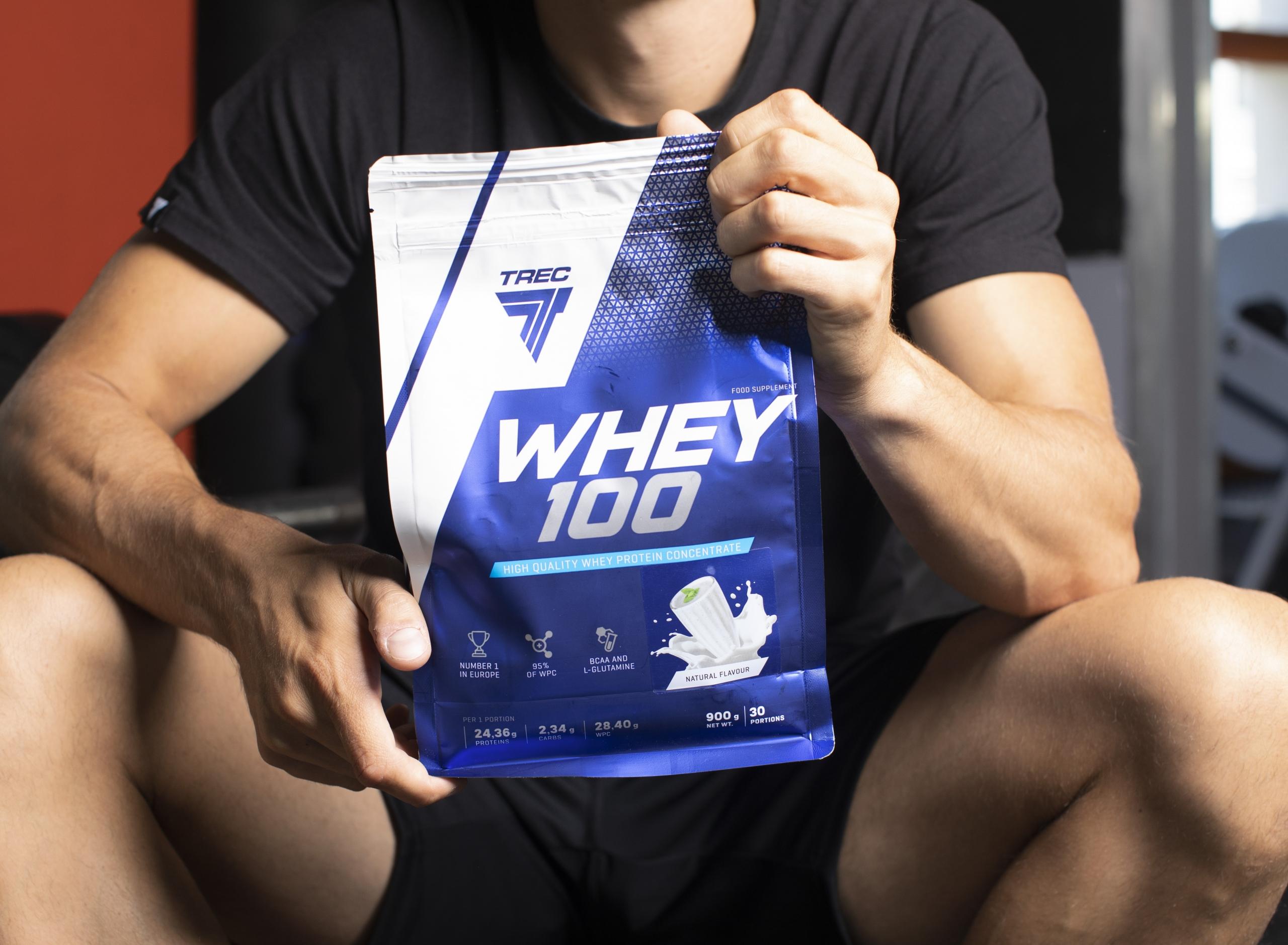 białko whey 100 trec nutrition