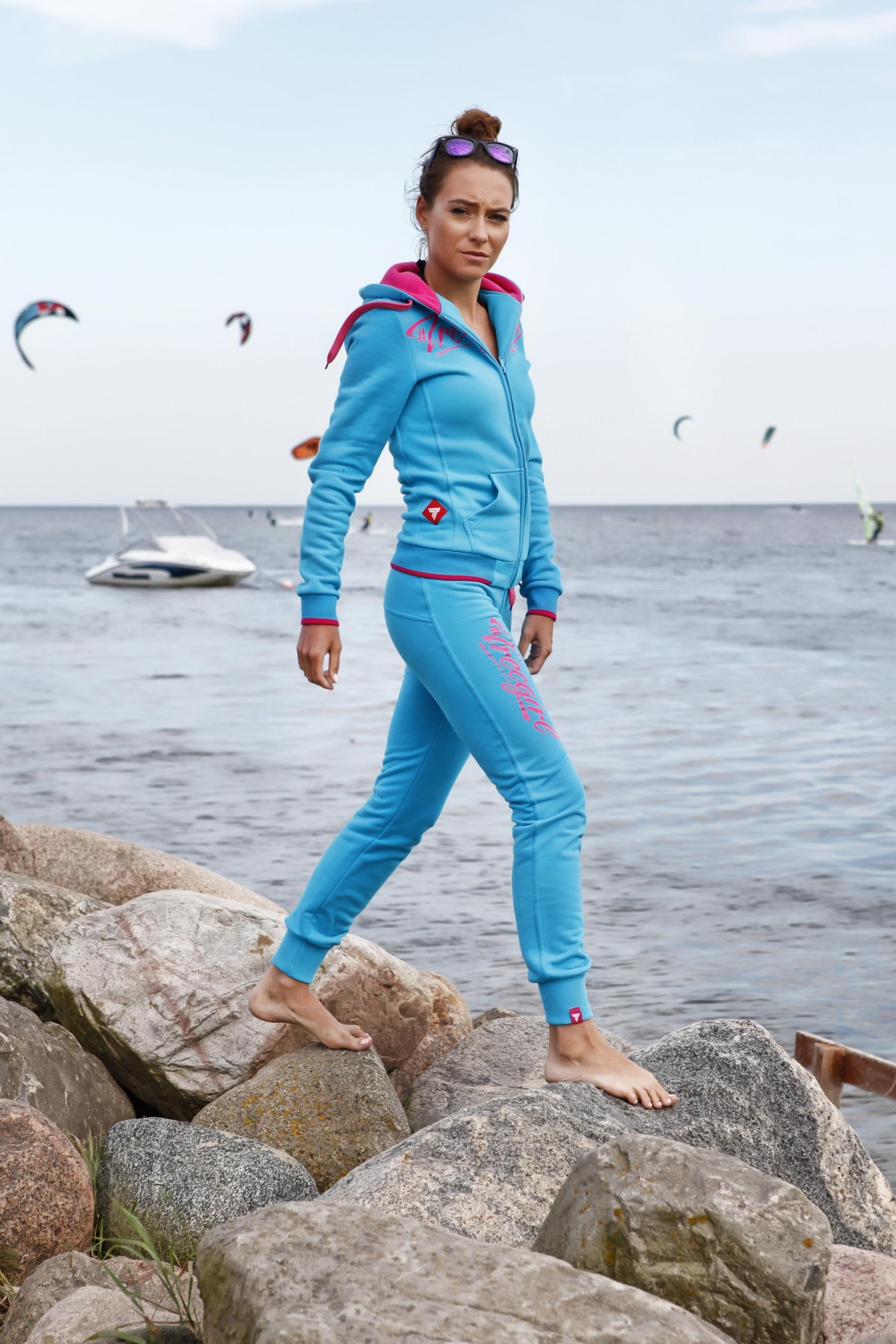 Women's blue Trec Wear tracksuit