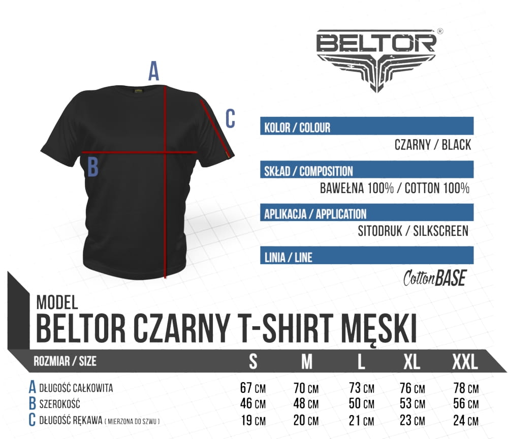 T-shirt Octagon kolor czarny Beltor 2