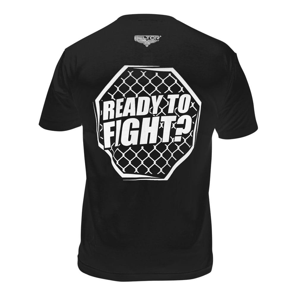 T-shirt Octagon kolor czarny Beltor