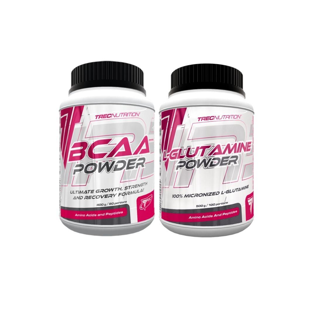 zestaw aminokwasów bcaa glutamina holandia